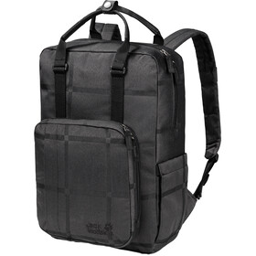 Jack Wolfskin Phoenix Y.D. Backpack black big check